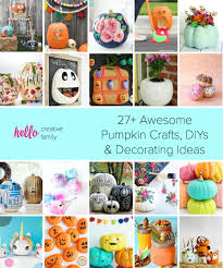 Creative Halloween Decoration Ideas 27 Awesome Pumpkin Crafts Diys And Decorating Ideas