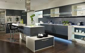meubles de cuisine design sans poignées par beckermann