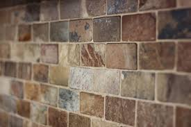 slate backsplashes for kitchens baksplash with hickory cabinets kitchen cabinet colors