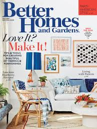 better homes and gardens magazine subscription one year