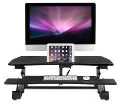 mount it electric sit stand workstation standing desk converter