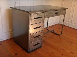 bureau atelier bureau atelier en metal vintage steel desk style and steel jpg