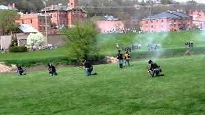 Galena Illinois Civil War Reenactment In Galena Illinois Youtube