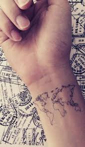 best 25 travel tattoos ideas on pinterest traveler tattoo