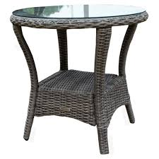 Driftwood Outdoor Furniture by Tortuga Outdoor Bayview Side Table Wicker Com