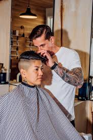 old fashinoned hairdressers and there salon potos womens barber shop haircuts