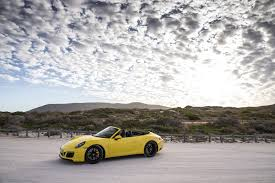 porsche 911 carrera gts cabriolet porsche 911 carrera 4 gts cabrio racing yellow the new 911 gts