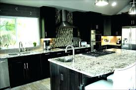 kitchen cabinets backsplash ideas espresso kitchen cabinets with white subway tile backsplash lowes