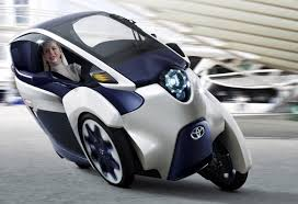 toyotas new car toyota u0027s new i road is a single seater car that looks straight out