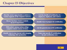 chapter 15 computer careers and certification chapter 15