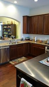 what color hardwood floors go with cherry cabinets i a kitchen with cherry cabinets and cherry