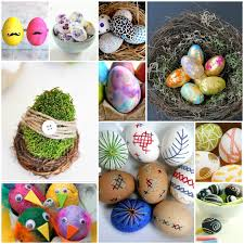 Easter Egg Decorations Uk 30 ways to decorate easter eggs