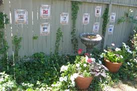 Fence Ideas For Small Backyard Uncategorized Wood Fence Decorating Ideas In Glorious Small