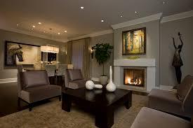 bronze living room living room transitional with open floor plan