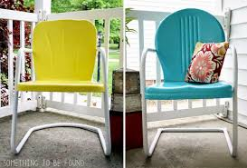Metal Outdoor Chairs Vintage Something To Be Found May Reader Thrift Challenge Reveal