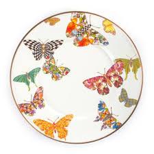 butterfly platter mackenzie childs butterfly garden tabletop