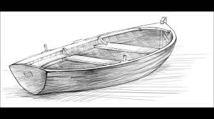how to draw a boat youtube