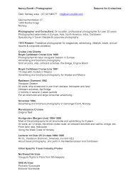 Photographer Resume Format 100 Photographer Resume Format 100 Latest Resume Format
