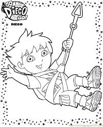 Diego 19 Coloring Page Free Go Diego Go Coloring Pages Go Diego Go Coloring Pages