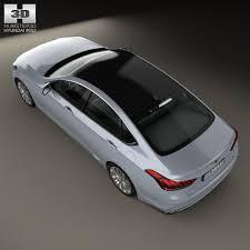 2015 Hyundai Genesis Interior Hyundai Genesis 2015 3d Model Cgtrader