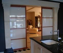 separation de cuisine en verre portes de séparation de pièce en verre laqué blanc vente de