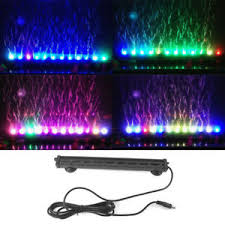 color changing led fish tank lights color changing led air bubble light submersible aquarium fish tank