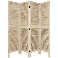 Oriental Room Dividers by Oriental Furniture 6 Ft Burnt White Venetian 4 Panel Room Divider
