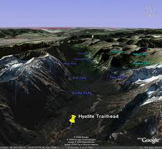 Montana Google Map by Hyalite