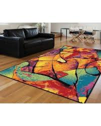 5 8 Area Rugs Deals On Alise Rhapsody Multi Area Rug 5 X 8 Size 5 X 8