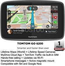 Tomtom North America Maps Free Download by Tomtom Go 6200 6 U0026 034 Gps Satnav Wifi Lifetime Traffic U0026amp