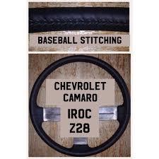 camaro iroc steering wheel and dash trim customizing repairing and