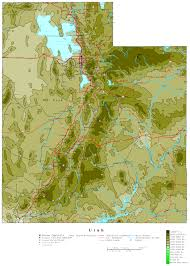 Us Map Topography Utah Contour Map 23423554 Aouo Us