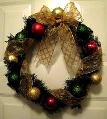 make an ornament wreath for less than five bucks dollar store crafts