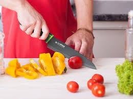 Red Kitchen Knife Block Set by Red Cylinder Knife Block U2013 Simprium
