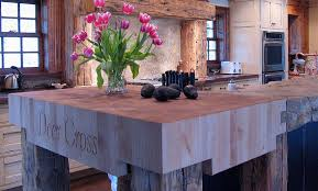 kitchen island with butcher block alder butcher block countertop in vernon jersey