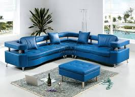 Navy Blue Leather Sectional Sofa Sofa Microsuede Sectional Blue Sectional Navy Blue