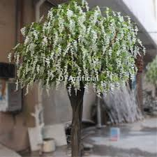 buy 10ft artificial white wisteria flower tree dongyi