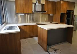 fukusu kitchen cabinet in awesome formica teak allover and pure
