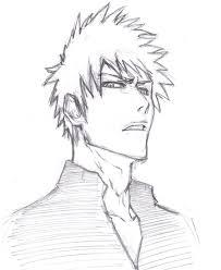 badass anime drawings ichigo badass by vimes da on deviantart
