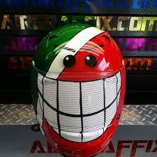 custom motocross helmets smiley face motorcycle helmets