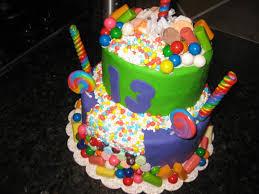 Cake Decoration At Home Birthday Thirteenth Birthday Cake Ideas 13th Birthday Cake Ideas For