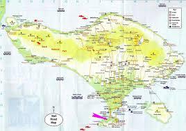Map Of Bali Bali Tourist Map Bali U2022 Mappery