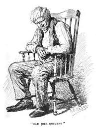 Old Man In Rocking Chair His U0027day In Court U0027 By Charles Egbert Craddock
