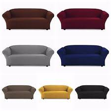 one piece stretch sofa slipcover traditional furniture slipcovers ebay