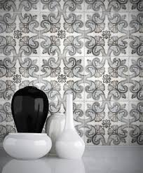 floral tile patterns bathroom kitchen home 6x6 12x12 carrara
