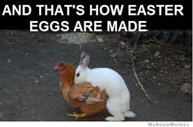 Easter Egg Meme - and thats how easter eggs are made weknowmemes