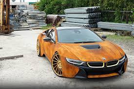 Bmw I8 Features - bmw i8 rust wrap custom car hypebeast