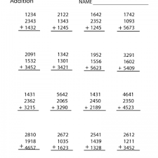 4th grade number patterns common core math worksheets fourth grade