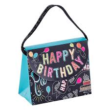 purse gift bags happy birthday chalkboard candy purse gift bag the container store