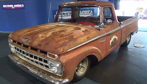 Classic Ford Truck Bumpers - 1965 ford f100 shop truck scottiedtv traveling charity road show